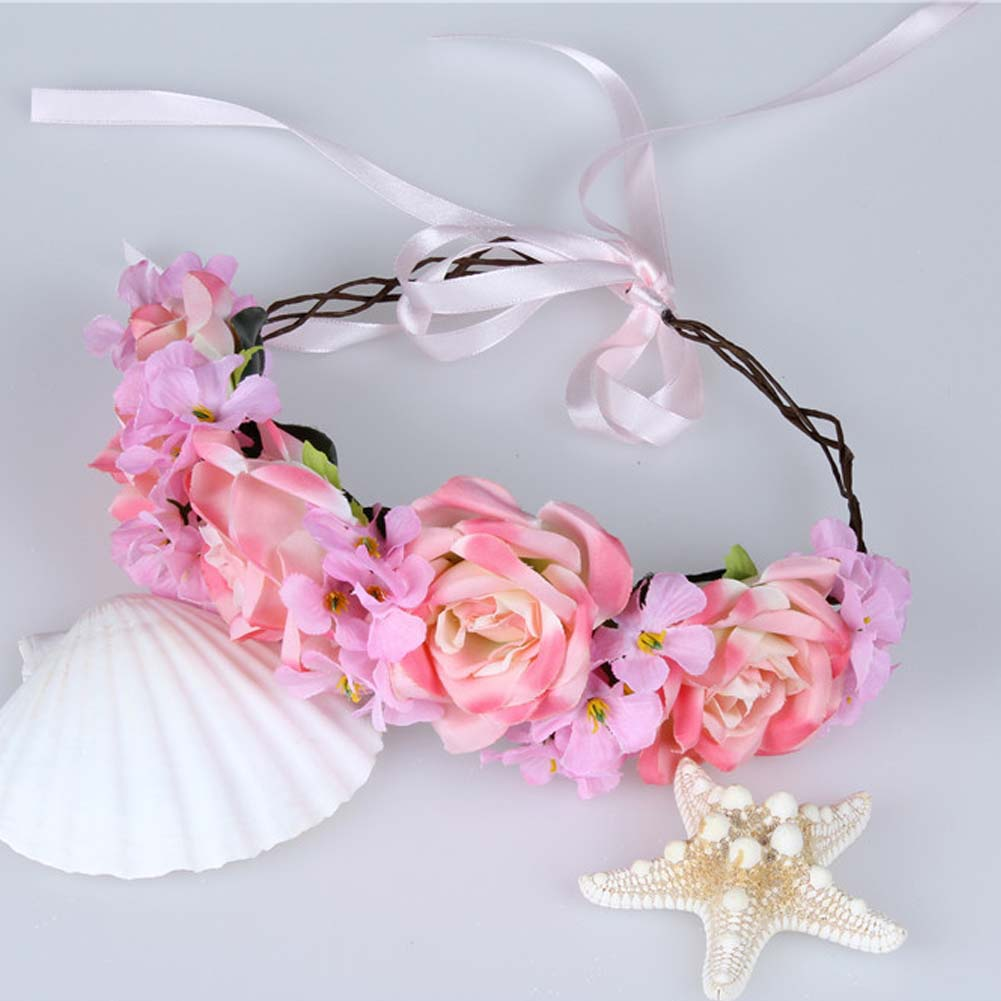 1PC Fashion Vintage Women Bride Wedding Headdress Garland Head Band ...