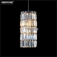 Малый современные подвесные светильники Кристалл Висячие Lustre de cristal лампы сад свет фойе Cocina наружного освещения 100% гарантия