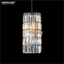 Small Modern Pendant Lights Crystal Hanging Lustre de cristal Lamp garden light foyer Cocina outdoor lighting 100% Guarantee iwhd europe crystal led pendant light fixtures bedroom dinning home lighting hanging lamp lights cristal lustre de pendentes