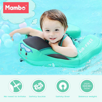 Mambobaby Solid No Inflatable Safety For accessories Baby Swimming Ring floating Floats Swim Pool Toy Bathtub Pools Swim Trainer