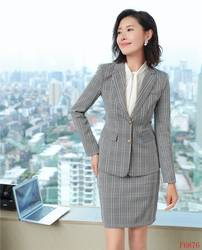 Высококачественные модные женские юбочные Костюмы Серый Блейзер и пиджак Наборы женские деловые костюмы офисный униформенный стиль