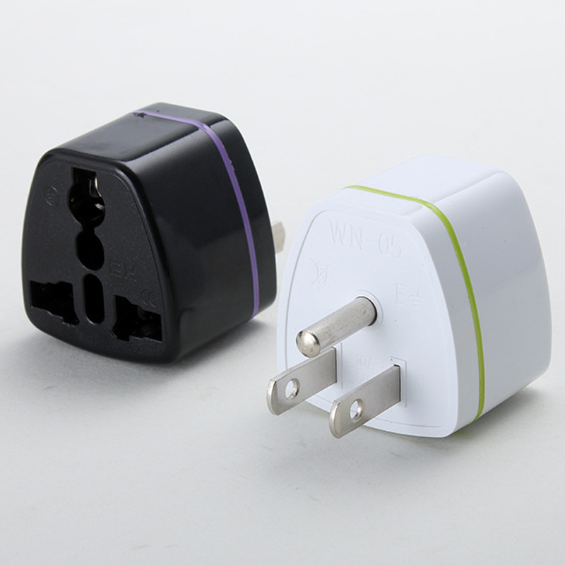 <font><b>3pin</b></font> Amerikanischen Stecker Adapter Eu Au <font><b>Uk</b></font> Zu UNS AC Travel Power Adapter Kanada Japan Thailand Brasilien Elektrische Steckdosen image