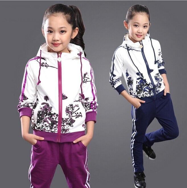 Aliexpress Buy Kids Girls Tracksuits Autumn Winter