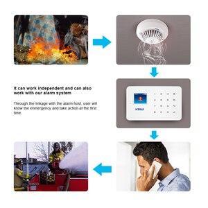 Image 5 - KERUI G18 ระบบเตือนภัยควันไฟป้องกัน SMS APP ควบคุม GSM Burglar ALARM Security ป้องกัน Sesor นาฬิกาปลุก