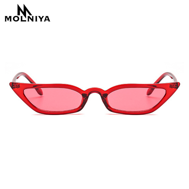 45ffafa71d9 MOLNIYA 2019 New Women Cateye Vintage Sunglasses Brand Designer Retro  Points Sun Glasses superstar Female Lady Eyeglass Cat Eye