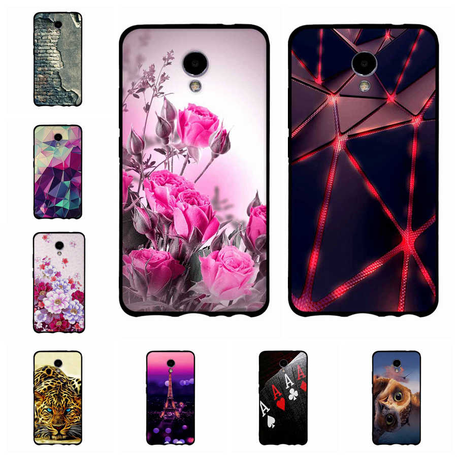 3D Painted Fashion For Meizu M5 Note/MeiBlue Charm Note 5 Note5 Cases Cover Luxury Silicon Case For Meizu M5 Note Cover