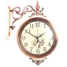 Wall Clock Reloj Clock Relogio de Parede Duvar Saati Horloge Murale relogio de parede decorativo Decorative Double-sided clocks
