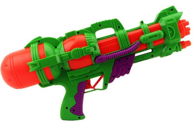 Big Water Gun Nerf Pistol Inflatable Pressure Gun Outdoor Sport Summer  Shooting Squirt Water Bullet Plastic
