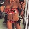 Women Sexy Vintage Beach Sequins Bikini Swimwear Swimsuits Push Up Bathing Suit Bikinis Set