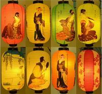 Sushi Store Paper Decor Lantern High Quality Waterproof Paper Lamp Hanging Light Satin Bar Decorative Pub House Decor