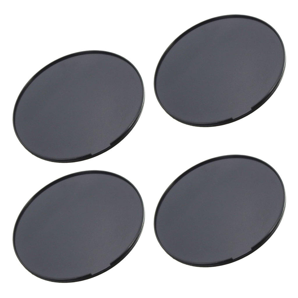 4 PCS Car Dash Dashboard Mount Console Discs Disk Pad Plate for Garmin Tomtom GPS Interior Accessories 72mm Diameter