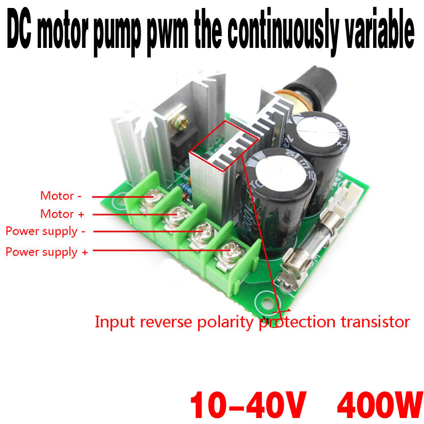The latest dc pump continuously variable speed control for Pump motor repair near me