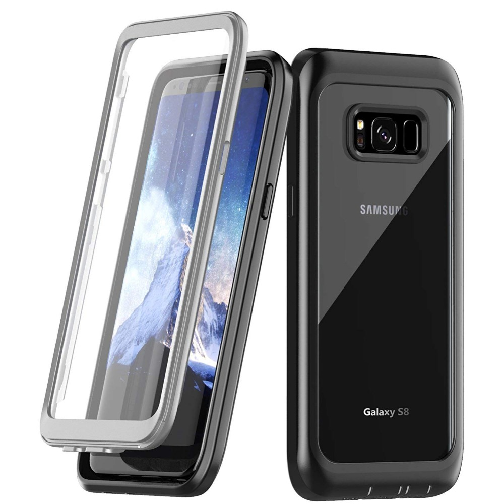 For Galaxy S8 Case life water Shock Dirt Snow Proof Protection for Samsung Galaxy S8 With Touch ID CoverFor Galaxy S8 Case life water Shock Dirt Snow Proof Protection for Samsung Galaxy S8 With Touch ID Cover