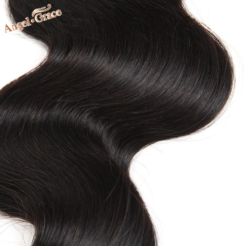 HTB1B mINMHqK1RjSZFPq6AwapXaA Angel Grace Hair Body Wave Bundles With Closure Remy Human Hair 3 Bundles With Closure Brazilian Hair Weave Bundles With Closure