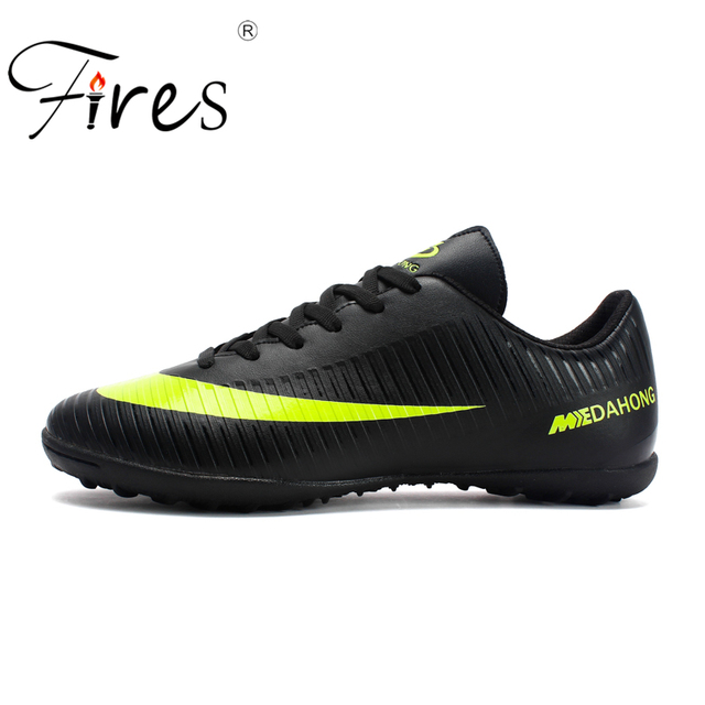 Fires Football Professional Soccer Football Shoes Men Women Outdoor TF Turf  Soccer Cleats Athletic Trainers Sneakers Boots Game f05dab2c8ac