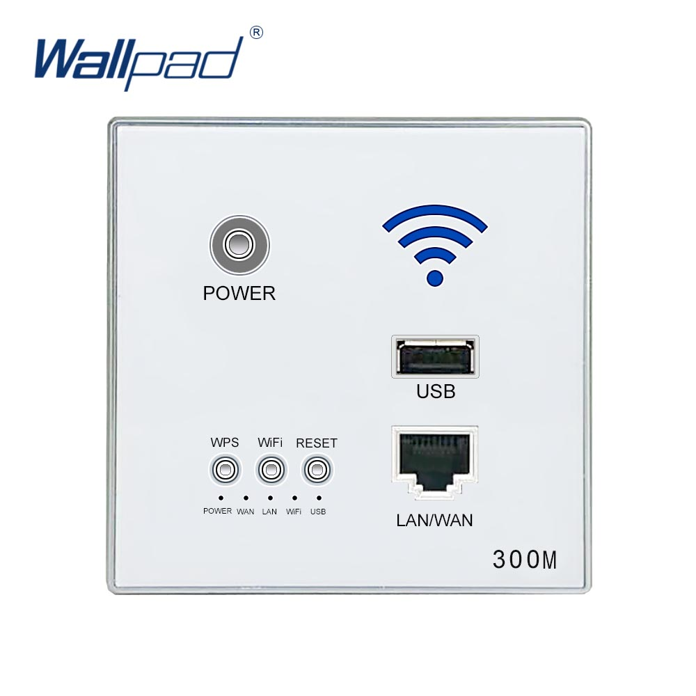 300M Wall Embedded Wireless WIFI AP Router USB Socket Outlet Wall Charger WiFi Smart Socket Electric USB Wall Sockets беспроводной маршрутизатор phicomm fir303c 300m ap