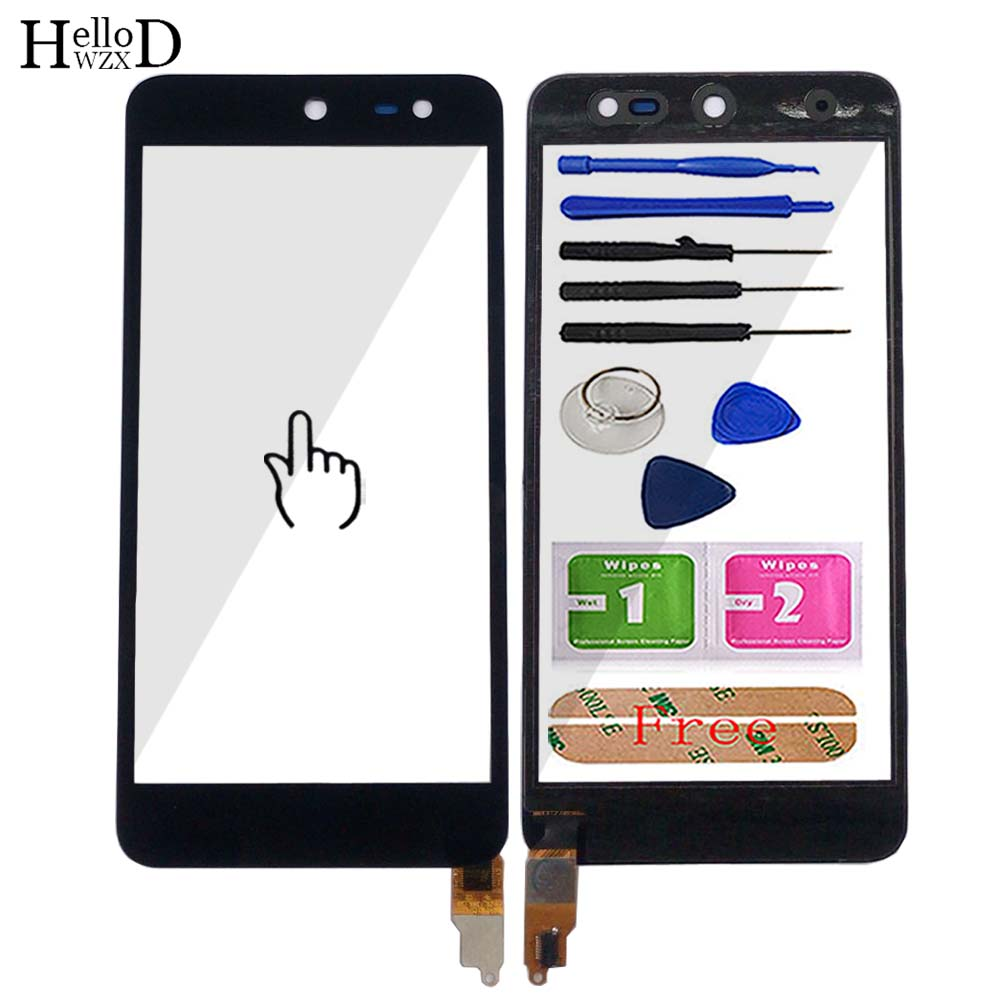 5'' Touch Screen For Micromax Canvas Juice 3 Q392 Touch Screen Digitizer Panel Front Glass TouchScreen Lens Sensor Mobile Tools