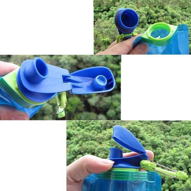Reusable Portable Folding Bottle