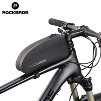 ROCKBROS Bicycle Bags MTB Road Cycling Front Tube Bag Waterproof  Portable Storage Handlebar Carry On Frame Bike Bag Accessories|Bicycle Bags & Panniers|Sports & Entertainment -