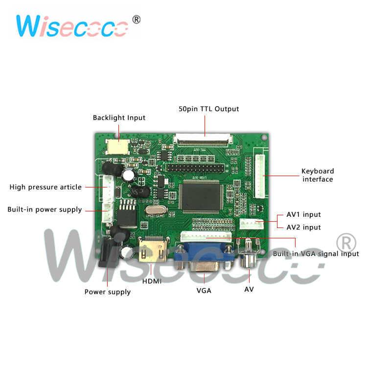 Raspberry pi display da 7.0 pollici risoluzione 1024x600 EJ070NA-01J 60 HZ 40-pin pannello di controllo viene utilizzato per sostituire la riparazione dello schermo