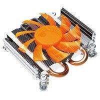 Blade Server Ultra Thin CPU Cooler Fluid Bearing Mute Cooling Fan Heatsink Radiator Ventilador for Computer PC