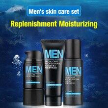 Toner Facial-Cleanser-Set Cosmetics Moisturizing-Cream Professional Men's Mineral Emollient
