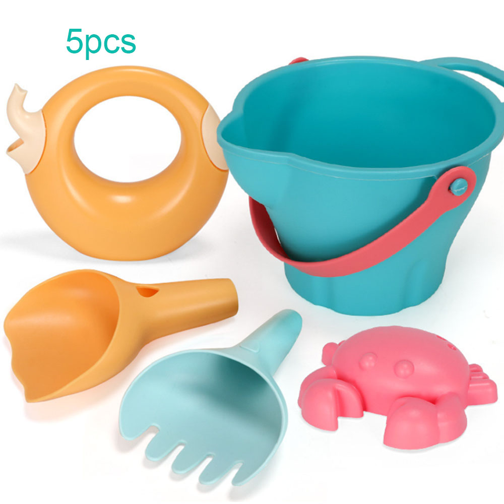 5-17pcs Castle Sand Clay Mold Digging Shovel Tools Water Beach Toy Bath Water Playing Toy Portable Beach Sand Toys Set