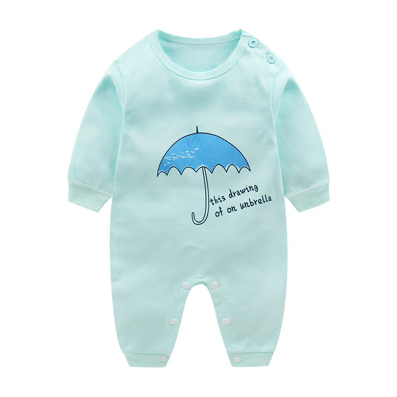 HTB1B o8uQyWBuNjy0Fpq6yssXXau Newborn baby clothes 100% Cotton Long Sleeve Spring Autumn Baby Rompers Soft Infant Clothing toddler baby boy girl jumpsuits