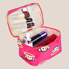 new Man Women Makeup bag Cosmetic bag beauty Case Make Up Organizer Toiletry bag kits Storage Travel Wash pouch Cosmetic Cases все цены