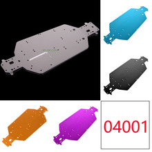 Aluminum Chassis 04001 For 1/10 RC Himoto Redcat Racing HSP 94107 94110 94115 94107Pro Off-Road Truggy Truck