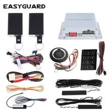 EASYGUARD 4pcs/lot PKE car alarm system remote engine start