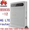 Huawei B593s-12 b593 3g 4g lte wifi router 4g cpe wireless dongle lte 4g mifi Router fdd all band pk e5172 b683 e5172s-515