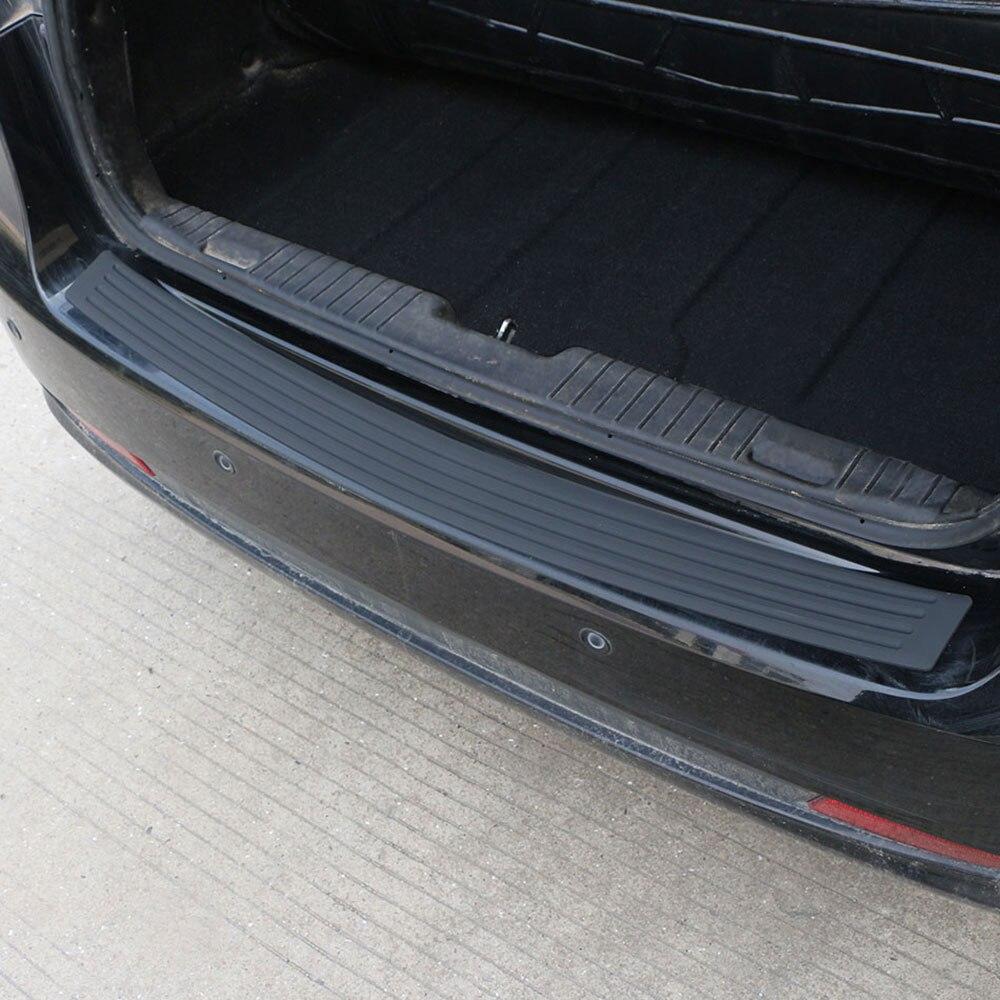 Car Rubber Rear Guard Bumper Protector Trim Cover Car Sticker Plate for Renault Sceni C1 2 C3 Modus Duster Logan Sandero
