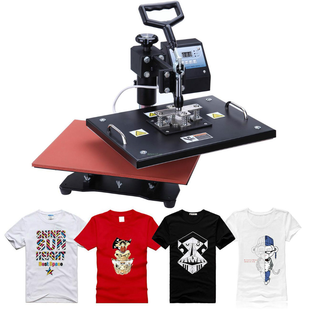 Shirt design transfer - Aliexpress Com Buy Cheap 5 In 1 New Design Combo Heat Press Transfer Machine For T Shirt Mug Cup Plate Cap Cell Phone Iphone Case Printer By Dhl From