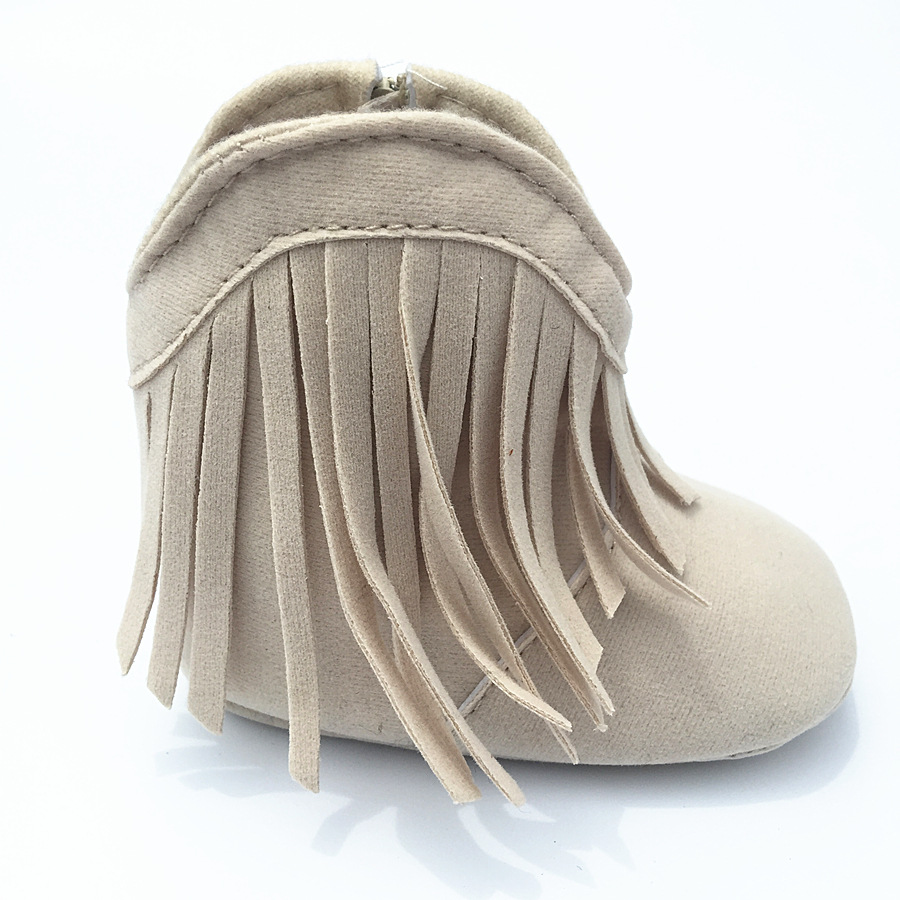 New-fringe-baby-girl-shoes-non-slip-soft-bottom-toddler-shoes-Cotton-princess-0-1-year-boots-1