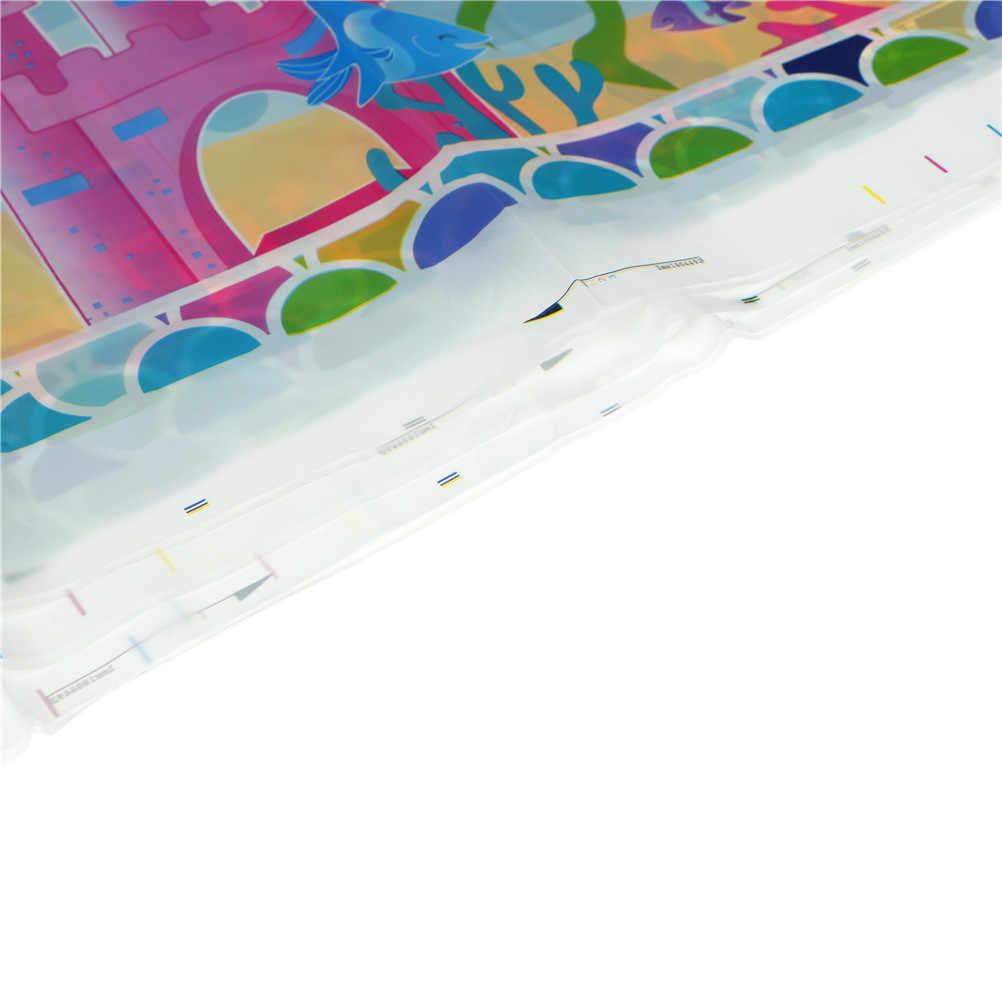 1 Stks 132*220 cm Mermaid Tafelkleden Voor Kids Cover Verjaardag Festival Party Decoratie Tablecover
