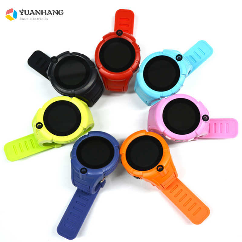 Smart GPRS LBS Location Remote Monitor Camera Sim Card SOS Call Flashlight Wristwatch Tracker Kids Son Students Phone Watch