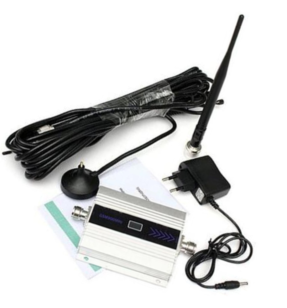 Boîtier en alliage LCD GSM 900 MHz téléphone portable répéteur de Signal amplificateur amplificateur répéteur cellulaire dispositif