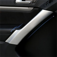 Accessories 4PCS Inner Handrails Decorative Frame With High Quality ABS Chrome Fit For Volkswagen Tiguan 2010