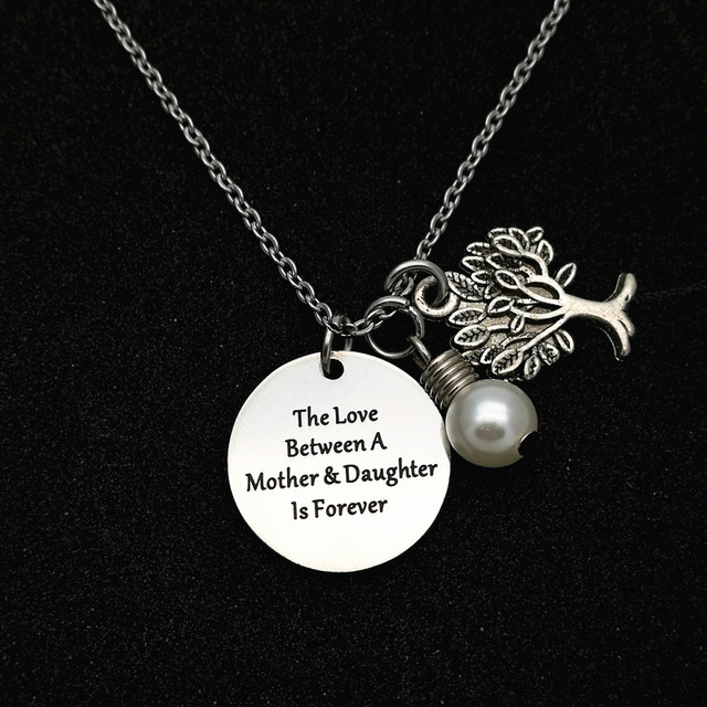 Personalized Family Tree Necklace, Tree of Life Pendant, Mother Gift ...