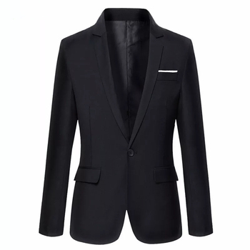 men suit black Single Breasted  One Button wedding SUIT  tuxedos for men jacket costume homme terno