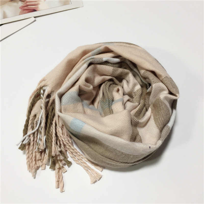 a9a969def Detail Feedback Questions about 2019 Winter Fashion Plaid Scarf for ...