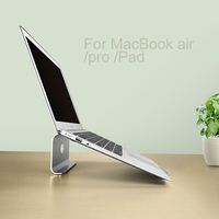 Hot Universal Laptop Bracket Aluminum Alloy Holder For MacBook Air Pro11 17 Inch Notebook PC PAD