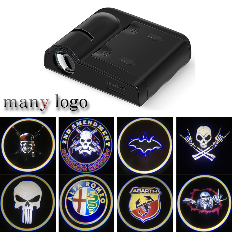 1PCS Universal Wireless Car Door Welcome Logo Light Projector LED Laser Lamp For Ford BMW Toyota Volkswagen Chevrolet Mazda