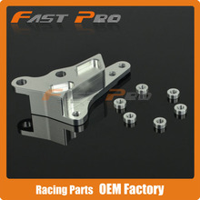 Wholesale prices CNC 320MM Brake disc Adaptor Bracket For 4 Pot Brembo Caliper HF6 For KTM SX SXF XC XCW XCF XCFW EXC 125-530CC 09-15