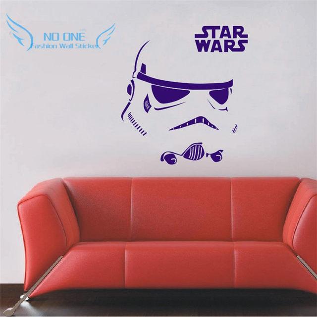 Darth Vader Star Wars Stormtrooper Star Wars Tattoos Vinyl Wandaufkleber  Steuern Dekor Kunst Wandwand Aufkleber Abziehbild Heißer