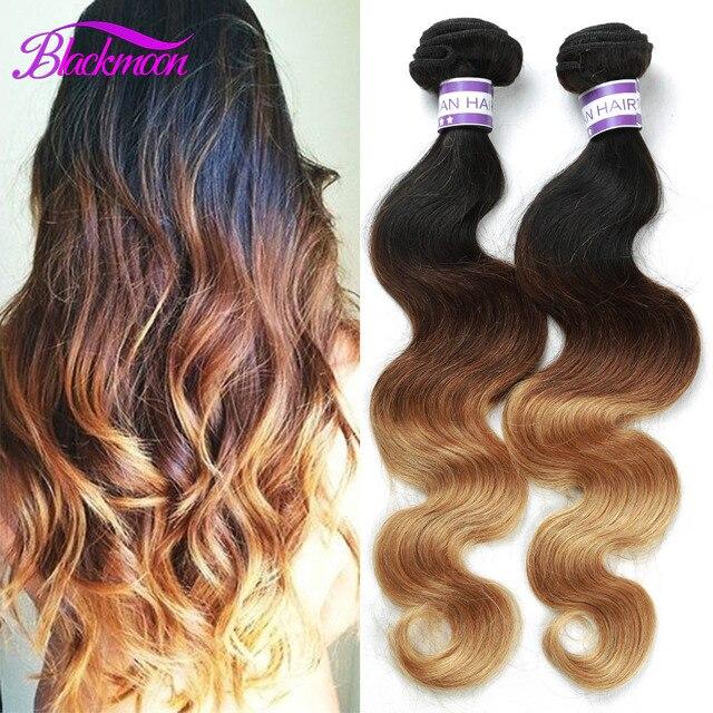 Ombre Hair Extensions 3 Bundle Deals Meches Bresilienne Lots Ombre