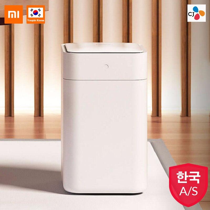 Xiaomi Mijia Original Townew T1 poubelle intelligente capteur de mouvement Auto étanchéité LED couverture à Induction poubelle 15.5L poubelles