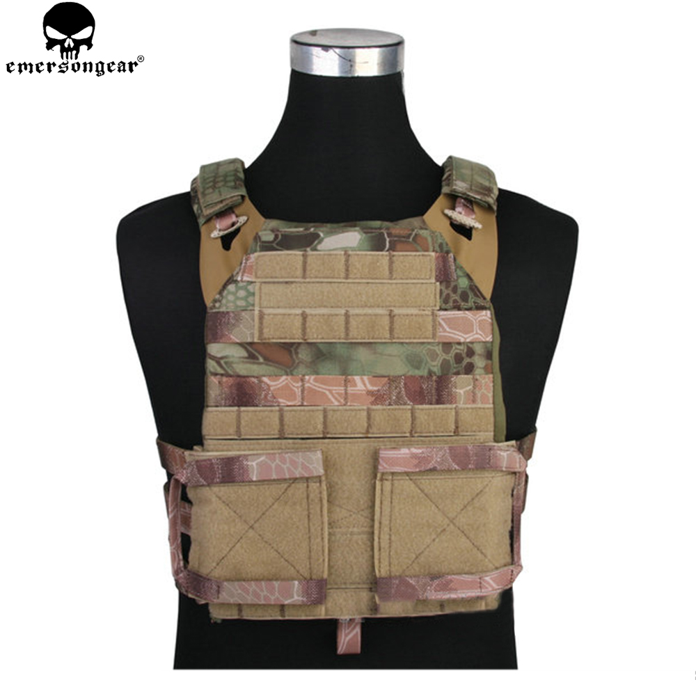 EMERSONGEAR Hunting Vest Jum Plate Carrier 2.0 emerson Wargame Military Tactical Vest with Plate Carrier MR
