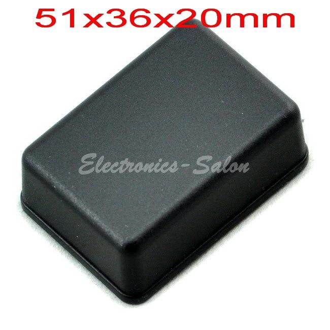 Small Desk-top Plastic Enclosure Box Case,Black, 51x36x20mm,  HIGH QUALITY.